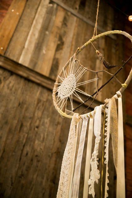Boho Wedding Dreamcatcher Décor Ideas