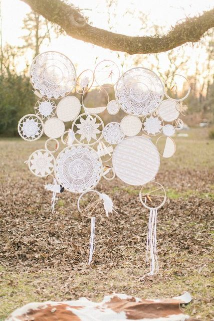 Picture Of Boho Dream Catcher Wedding Decor Ideas 9