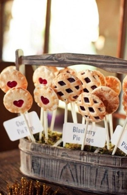 Picture Of Cozy Pie Bar Ideas For Your Wedding 7