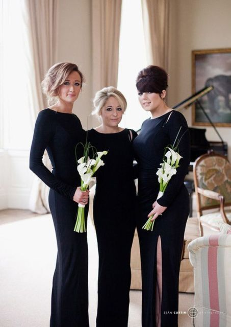 The Hottest 2015 Trend: 22 Elegant Long Sleeved Dresses For Bridesmaids