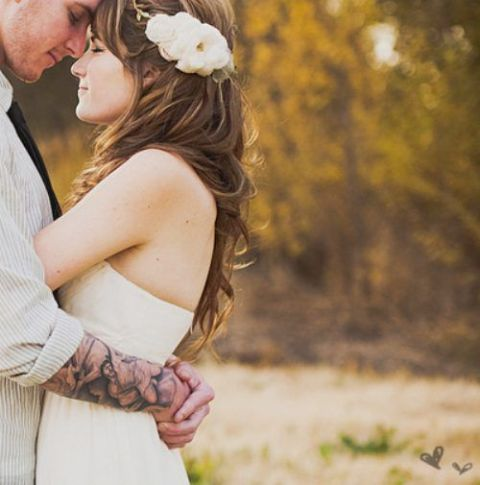 Picture Of Excellent Groom Looks With Tattoos 17