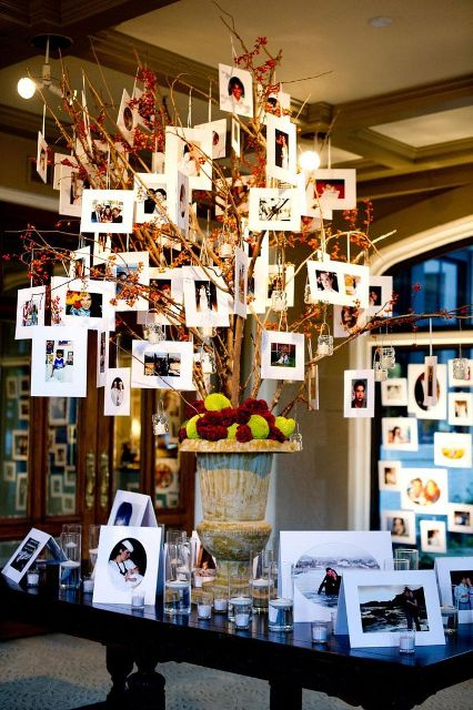 Cute Family Tree Ideas For Your Wedding Decor & 22 Cute Family Tree Ideas For Your Wedding Decor - Weddingomania