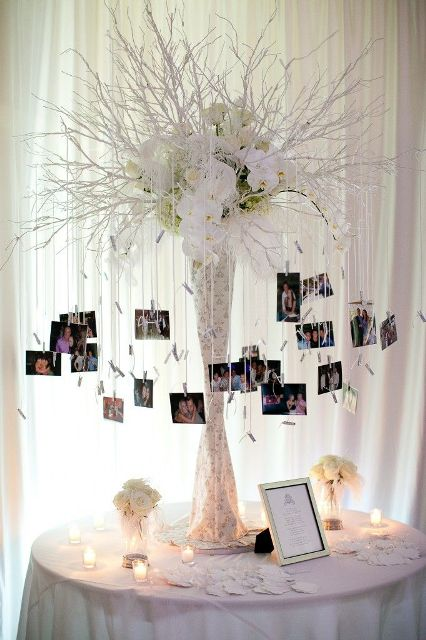cute family tree ideas for your wedding decor