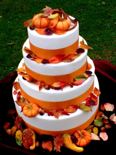 Fall Birthday Cakes Pinterest