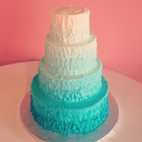 Tiffany Blue Cake Design : Picture Of Tiffany Blue Wedding Cake Ideas 13