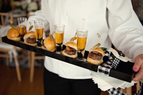 serve mini burgers with your favorite beer, and most of your guests will be super happy