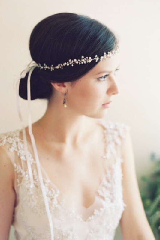 Picture Of breathtaking bridal headbands that we love  19