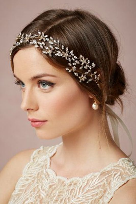 Picture Of breathtaking bridal headbands that we love  9