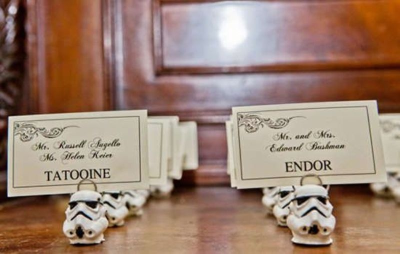 Picture Of Chic And Awesome Star Wars Themed Wedding Ideas