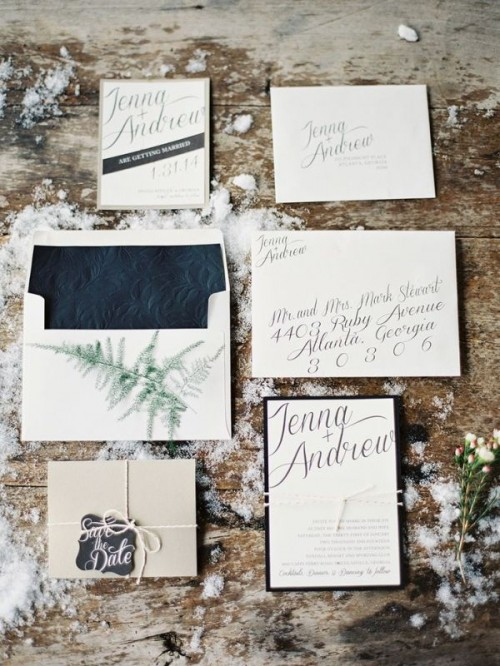 Details That We Love For Winter Weddings