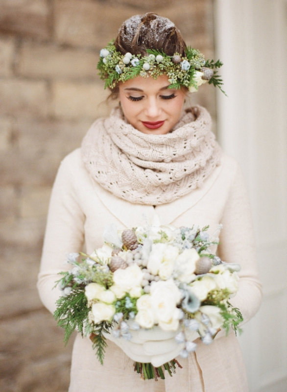 Picture Of details that we love for winter weddings  2