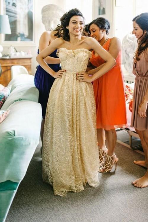 Gold Dress Wedding 96 Luxury Fabulous Gold Wedding Dresses