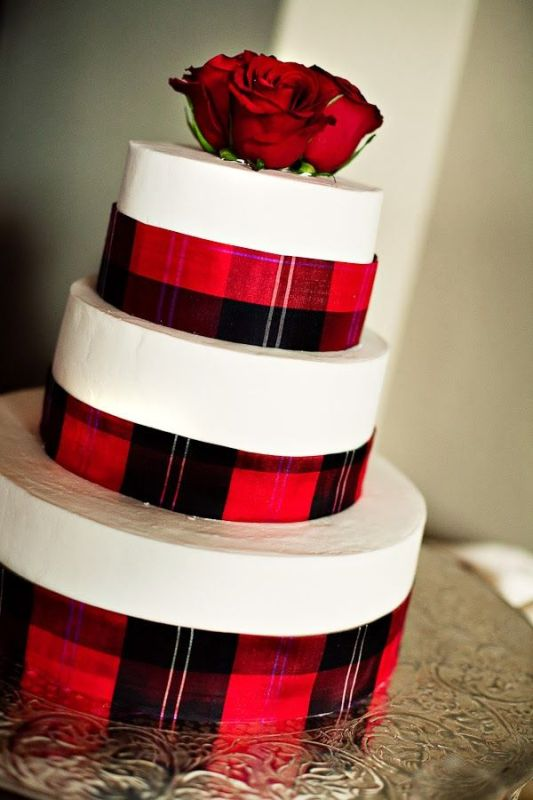 Picture Of fancy tartan ideas for your winter wedding  12