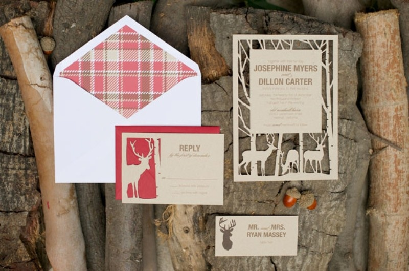 Picture Of fancy tartan ideas for your winter wedding  14