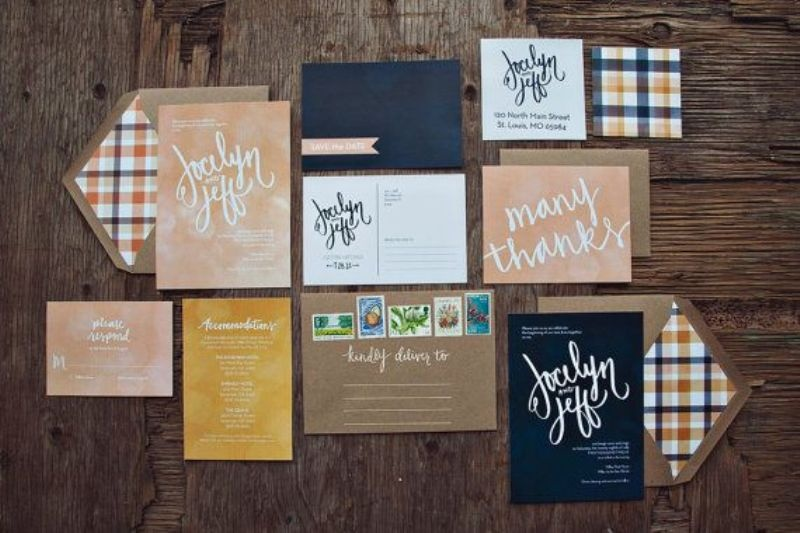 Picture Of fancy tartan ideas for your winter wedding  20