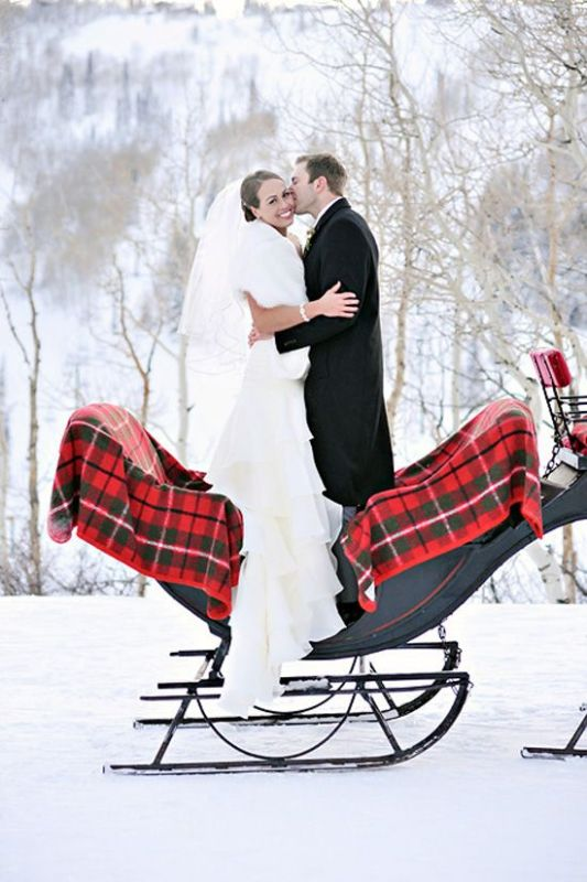 Picture Of fancy tartan ideas for your winter wedding  21