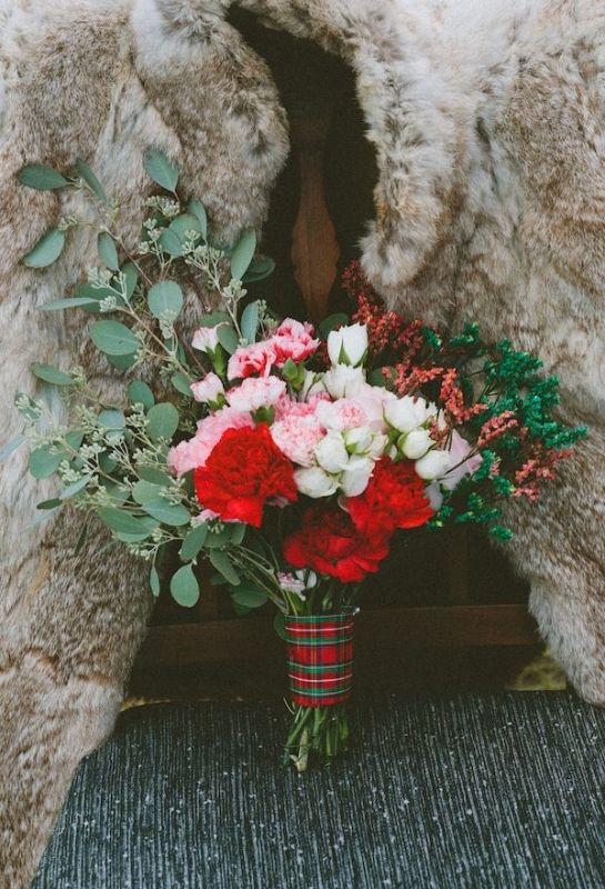 Picture Of fancy tartan ideas for your winter wedding  22