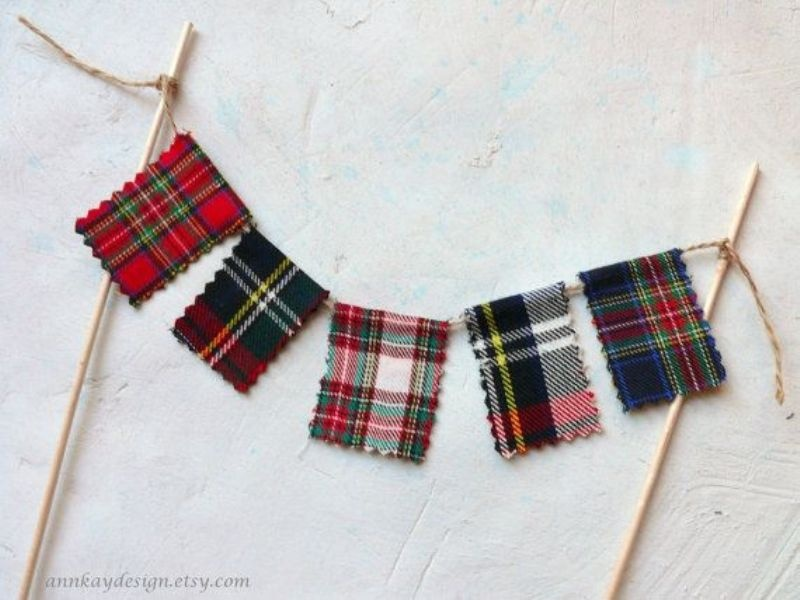 Picture Of fancy tartan ideas for your winter wedding  4