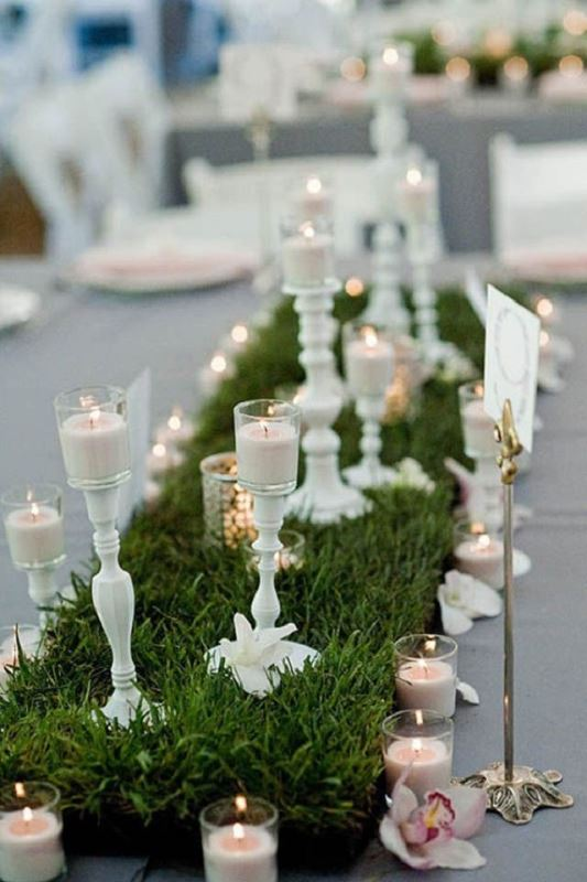 23 romantic organic inspired white and green wedding ideas romantic organic inspired white and green wedding ideas junglespirit Images