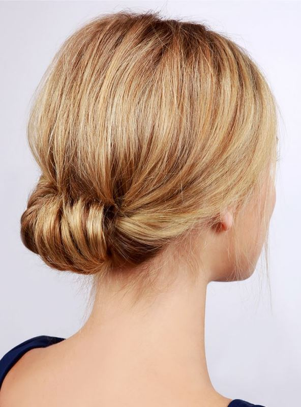 Picture Of Simple Yet Elegant Rehearsal Dinner Hairstyles 7