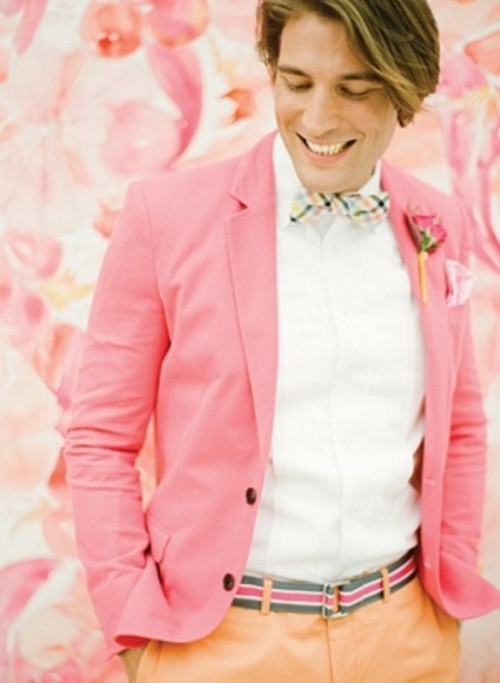 Stylish Groom Suits With Mismatched Prints