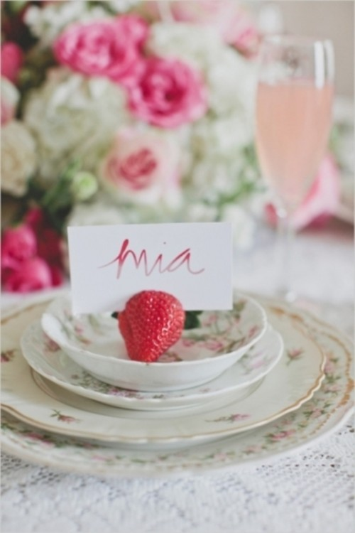 23 Sweet Strawberry Wedding Ideas