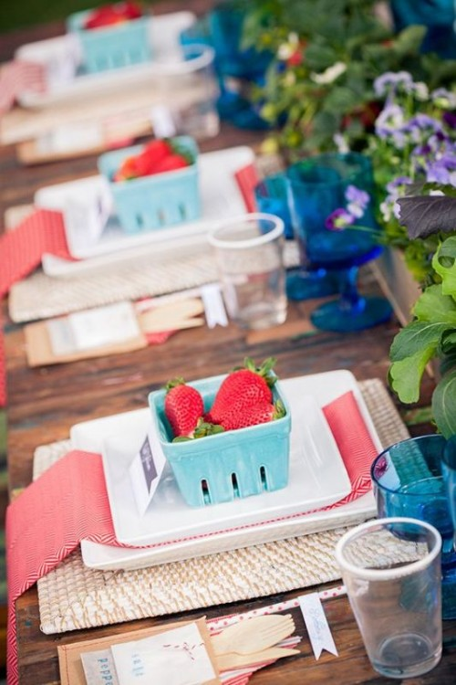 Sweet Strawberry Wedding Ideas