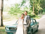 24 Chic Retro Styled Car Ideas For Your Wedding2