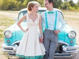24 Chic Retro Styled Car Ideas For Your Wedding24