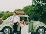 24 Chic Retro Styled Car Ideas For Your Wedding5