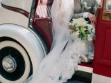 24 Chic Retro Styled Car Ideas For Your Wedding6
