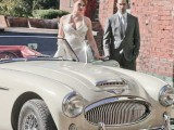 24 Chic Retro Styled Car Ideas For Your Wedding8