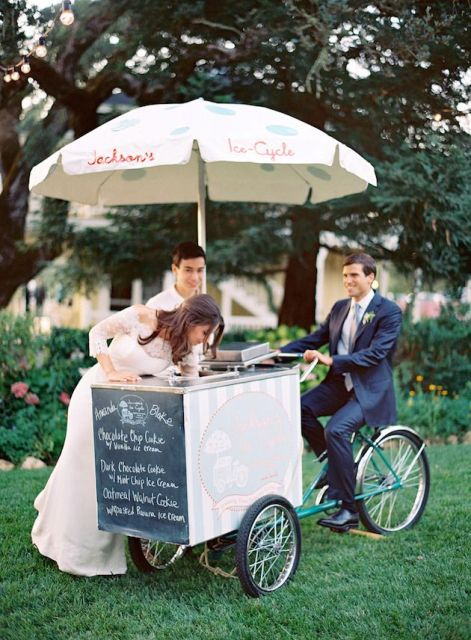 Cool Wedding Ice Cream Ideas