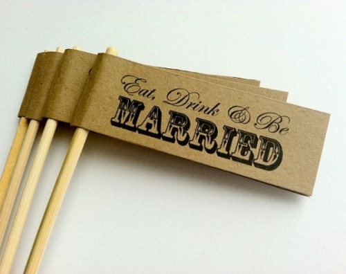 24 Stylish Ways To Use Kraft Paper In Your Wedding