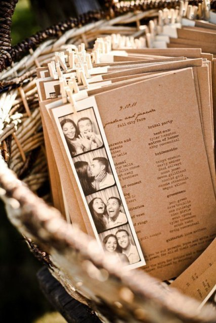 Stylish Ways To Use Kraft Paper In Your Wedding