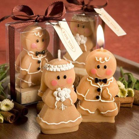 Yummy Gingerbread Wedding Décor Ideas