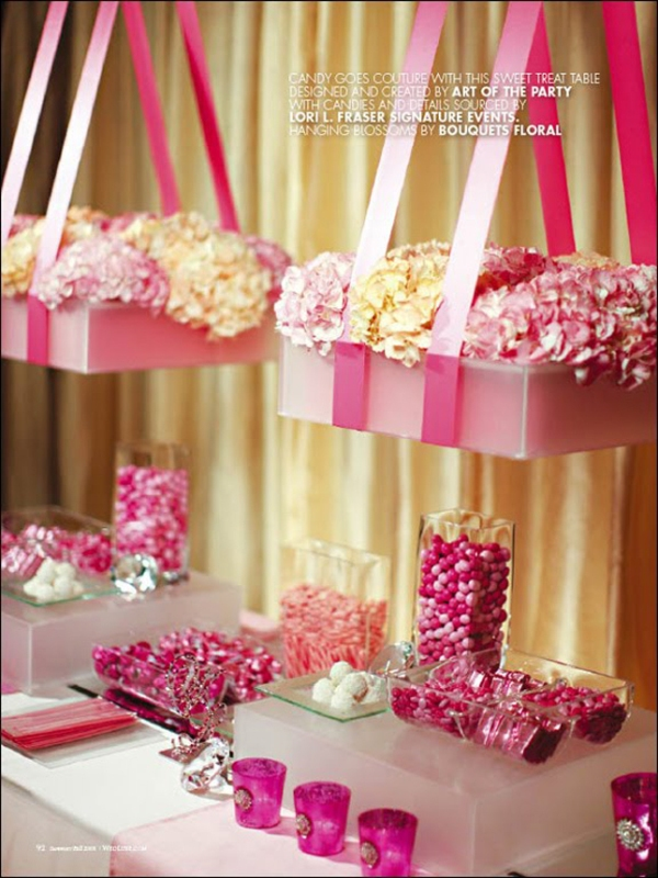 Wedding Ideas: Pink and Purple Wedding Theme!