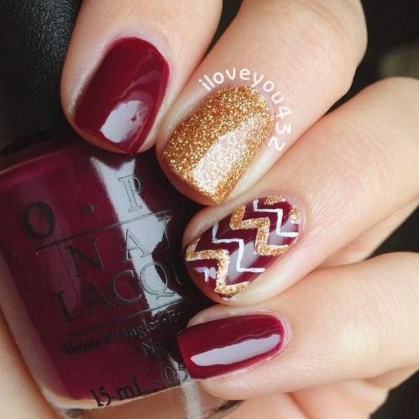 Autumn Nails Design   Best Nail Designs 2018