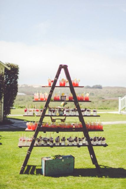 Picture Of Awesome Ways To Incorporate Ladders Into Your Wedding 24
