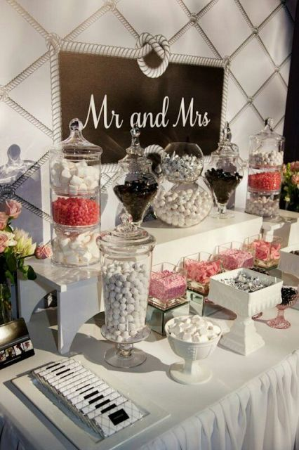 Picture Of Candy Bar Ideas For Your Wedding 21