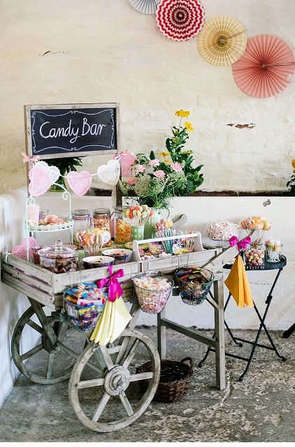25 Adorable Candy Bar Ideas For Your Wedding