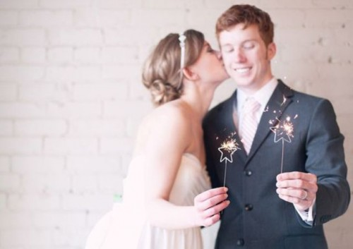 Cool Sparkler Wedding Décor Ideas