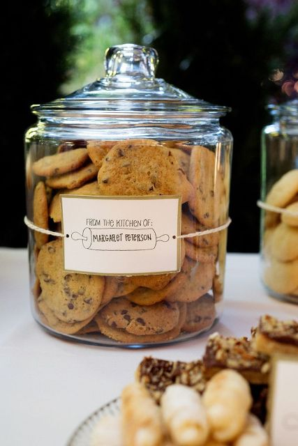 38 Cute Cookie Bar Ideas For Your Wedding Weddingomania