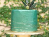 25 Elegant Striped Wedding Cakes18