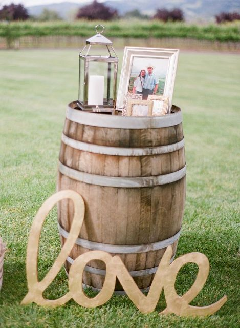 Lovely Ideas To Use Wine Barrels At Your Wedding