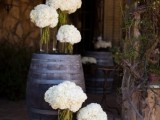 25 Lovely Ideas To Use Wine Barrels At Your Wedding22