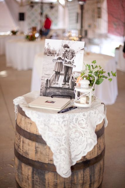 Picture Of Lovely Ideas To Use Wine Barrels At Your Wedding 7