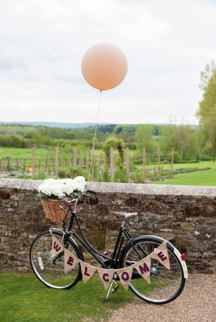 Original Bicycle Themed Wedding Ideas