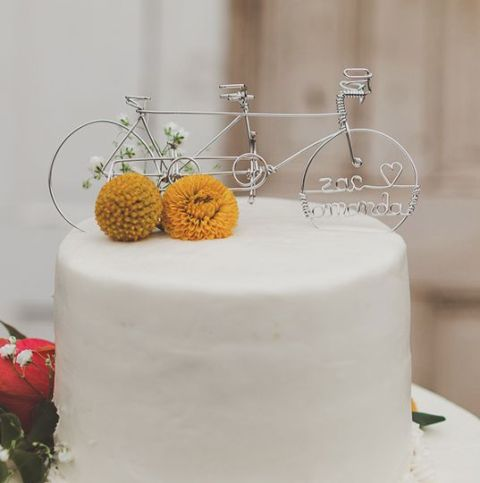 Picture Of Original Bicycle Themed Wedding Ideas 18