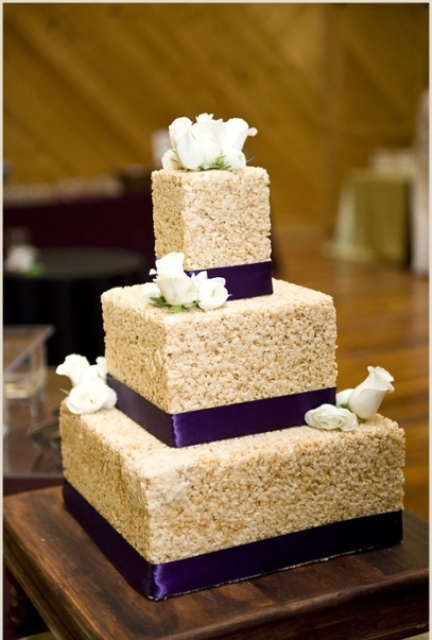 Picture Of Tasty Rice Krispie Wedding Cakes 19